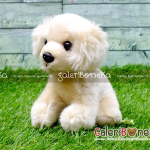 Boneka Anak Anjing Golden Retriever