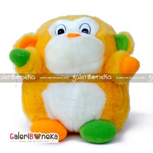Boneka Gorila Cute Orange